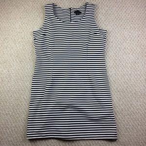 NWOT Black & White stripe sleeveless dress